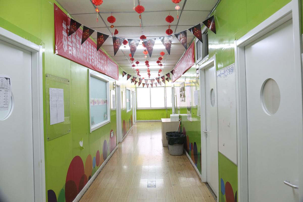 市中校区走廊