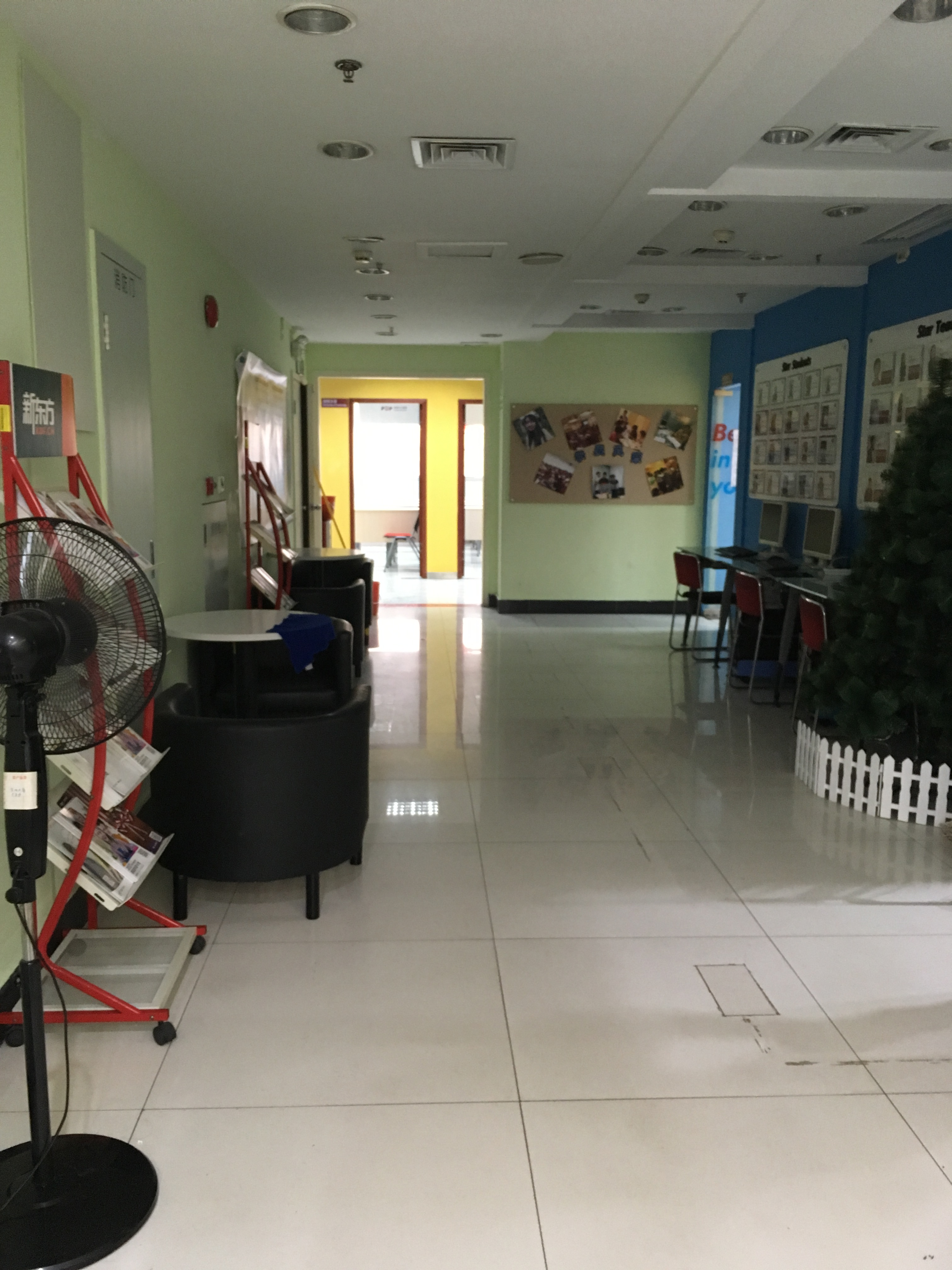 大课室教室区